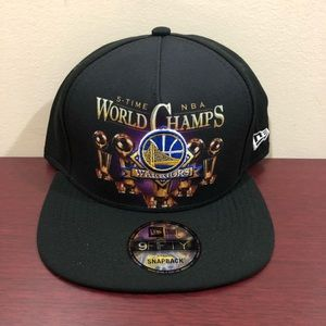 New Era, 9Fifty Snapback Hat Golden State Warriors